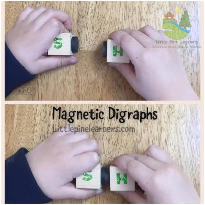 Help your kindergartener learn digraphs with this fun literacy activity.