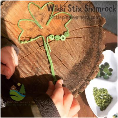 Help your preschooler strengthen their fine motor skills with this fun St. Patrick's Day activity.