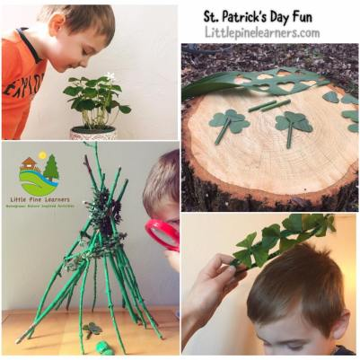 Here is week's worth of St. Patrick's Day activities for your little nature lover.