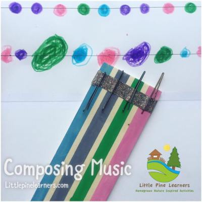 Start composing music with your kindergartener with this fun activity!