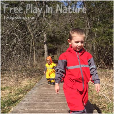 Read here about the benefits of free play in nature. Get outdoors and rewild your child!