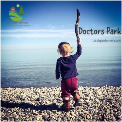 We had a family adventure that led us to Doctors Park in Milwaukee where we searched for sticks and stones for our constellations.