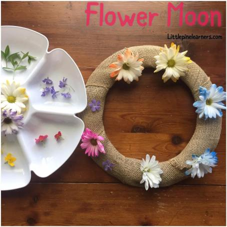 May's full moon is almost here! Here are some fun activies to help you and your child celebrate the Flower Moon. Visit littlepinelearners.com for more fun!.jpg