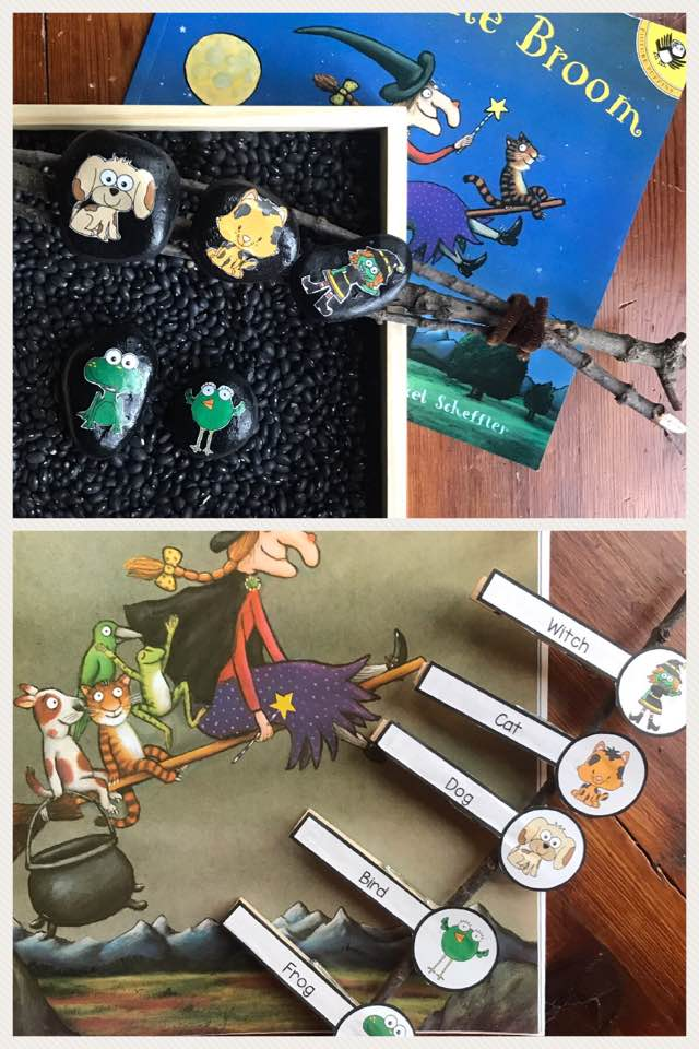 room on the broom collage 2